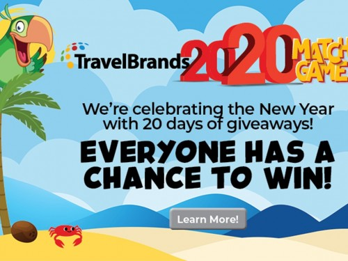 Agents can win big with TravelBrands' Match Game