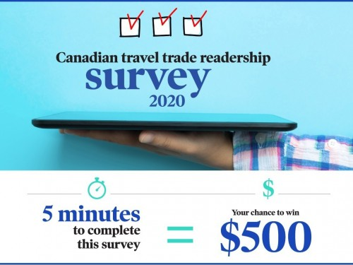 Don't forget to take our readership survey for your chance to win $500!