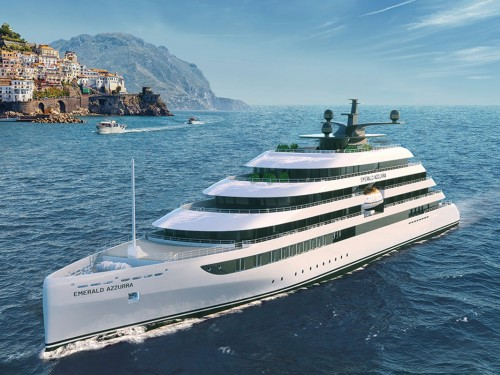 Emerald adds intimate yacht cruising to portfolio with 100-guest Azzurra