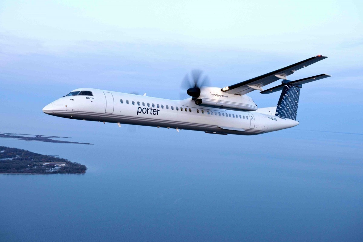 Porter to temporarily suspend all flights; layoffs to come