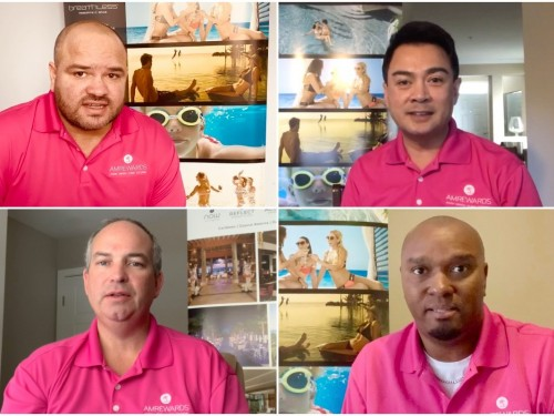 """VIDEO: Canada's AMResorts team encourages travel agents to """"keep the dream alive"""""""