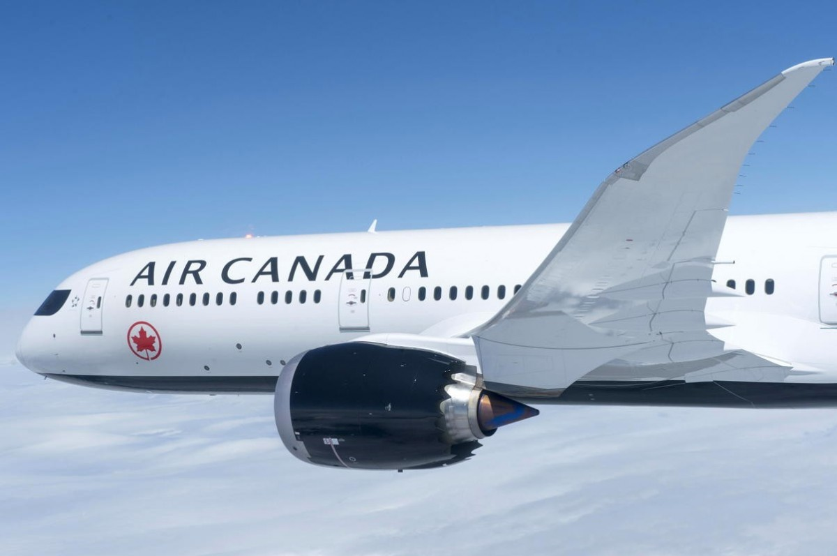 Air Canada redistributes onboard fresh food items to Canadians in need