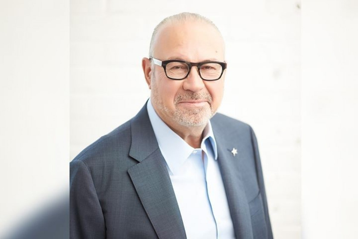 Jean-Marc Eustache, president & CEO of Transat, addresses customers & travel trade