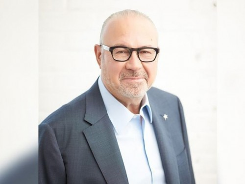 Jean-Marc Eustache, president & CEO of Transat, addresses customers & travel trade
