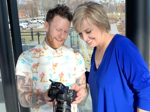 VIDEO: A behind-the-scenes look at PAX's March photoshoot with WestJet's Jane Clementino!