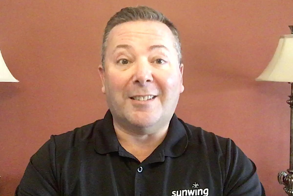 """VIDEO: """"We will get through this:"""" A message from Dave Wright of Sunwing Vacations"""
