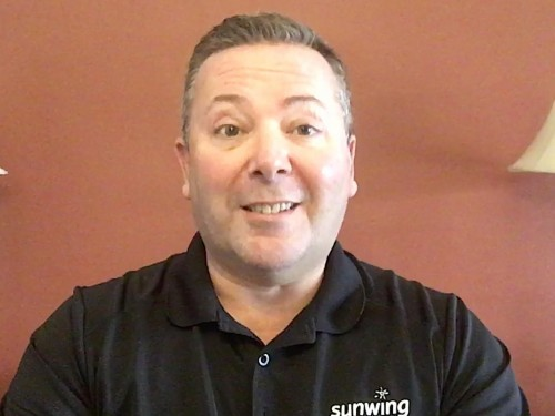"VIDEO: ""We will get through this:"" A message from Dave Wright of Sunwing Vacations"