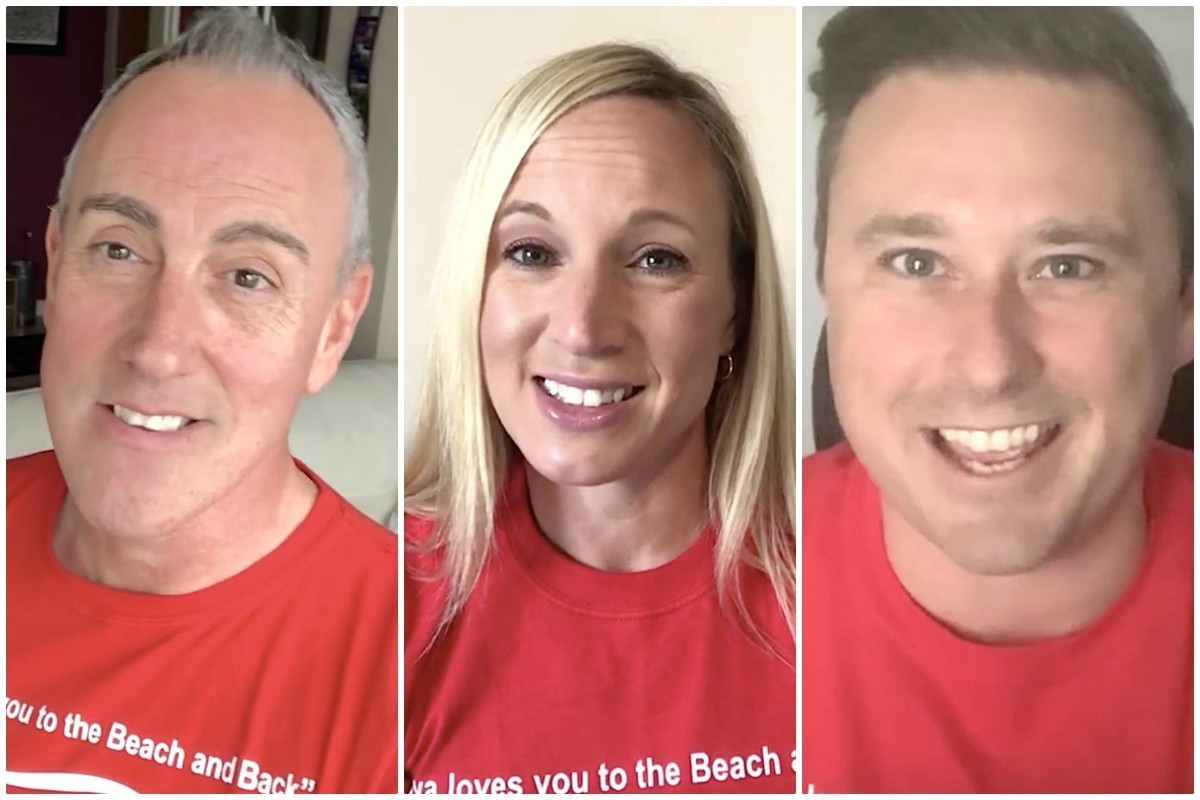 """VIDEO: Playa's Canadian team thanks agents, sends love """"to the beach and back"""""""