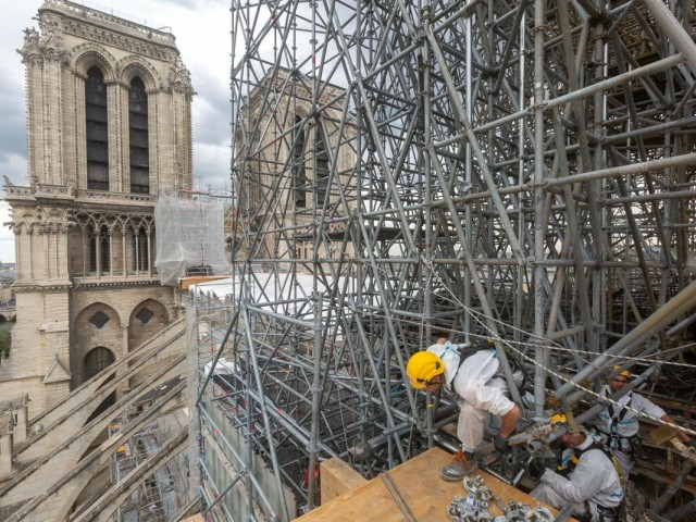 After the fire: One year later, Notre Dame's reopening remains unknown