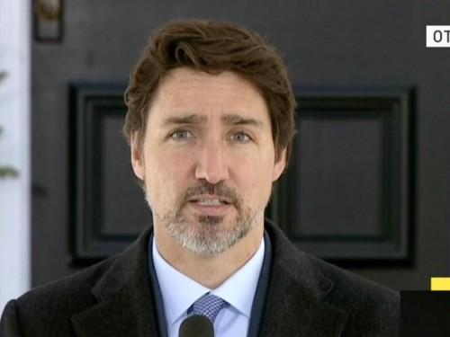Trudeau: wage subsidy program launching April 27th