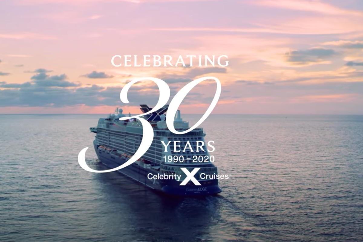 VIDEO: Celebrity Cruises celebrates 30 years