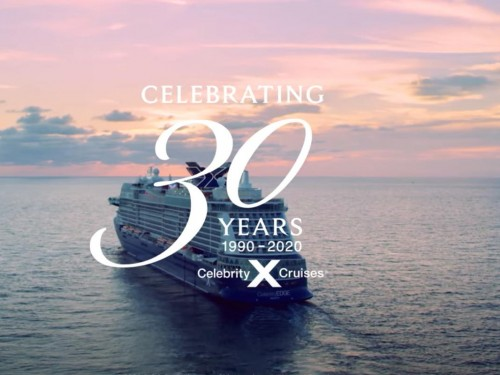 VIDEO: Celebrity Cruises celebrates 30 years