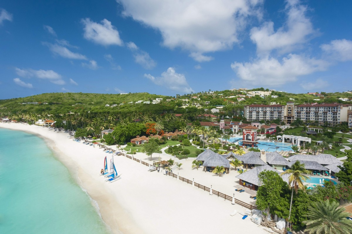 Sandals Grande Antigua is officially open!