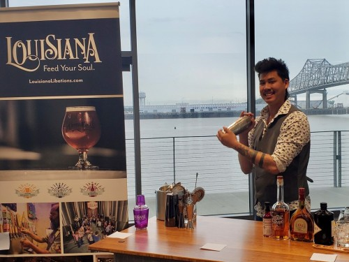 Louisiana Office of Tourism shows off mixology talents during Virtual Happy Hour