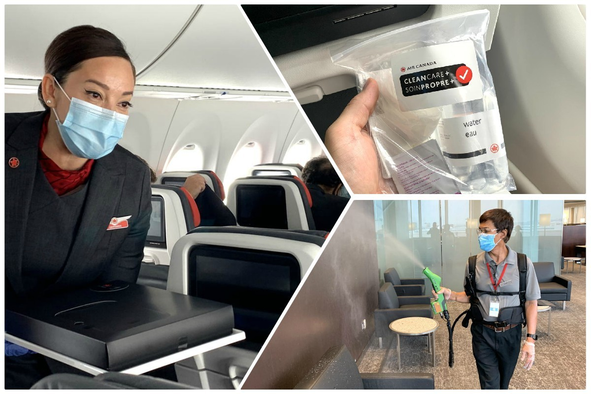 We flew with Air Canada during the COVID-19 pandemic. Here's what we saw.