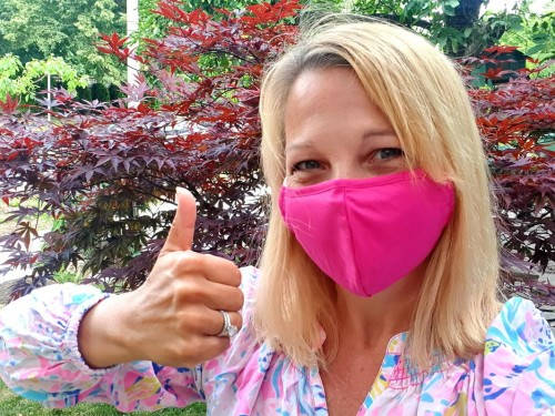 The side hustle: How this travel advisor launched a business selling travel-inspired face masks