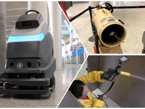 VIDEO: What do those cleaning machines at YYZ do? The GTAA explains.