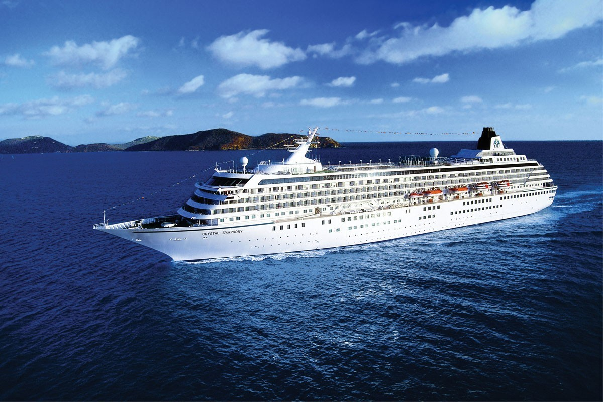 Crystal Symphony's 2023 luxury itineraries now open for booking