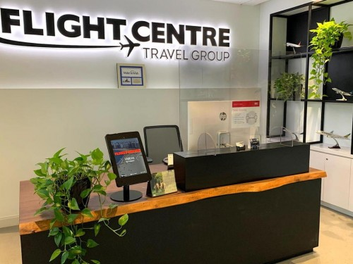 Flight Centre reports record amount of new business for corp. travel