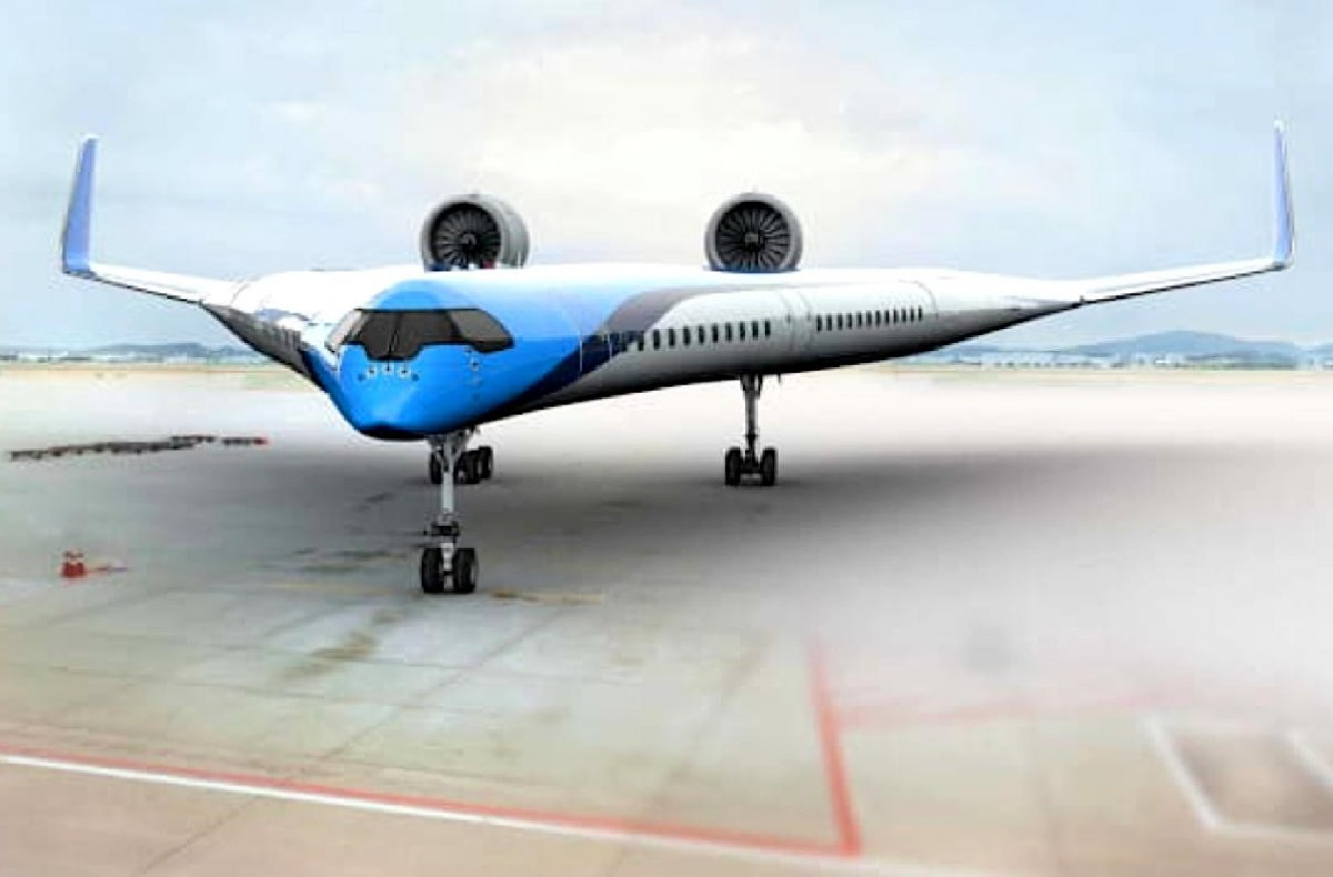 """KLM's futuristic """"Flying-V"""" airplane makes successful maiden flight"""