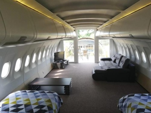 This old Etihad plane has found new life as a holiday rental