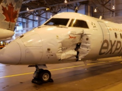 Collision at YYZ: injured passengers were victims of their own ignorance