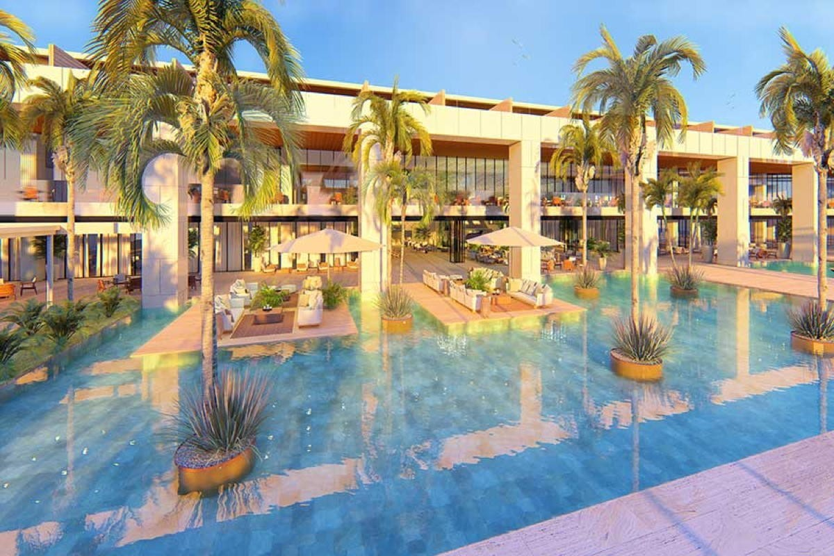 Live Aqua Beach Resort Punta Cana opening in Feb. 2021