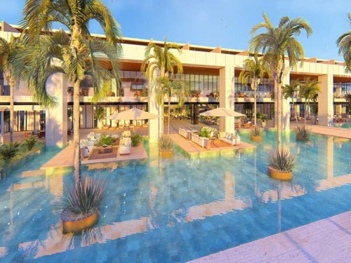 Live Aqua Beach Resort Punta Cana opening in Feb. 2021