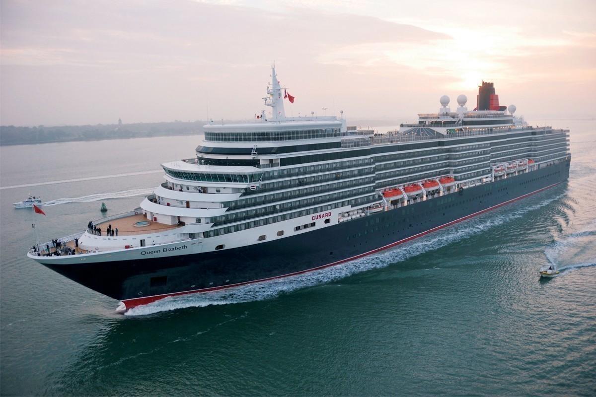 Cunard's Queen Elizabeth returns with Mediterranean cruises in 2021