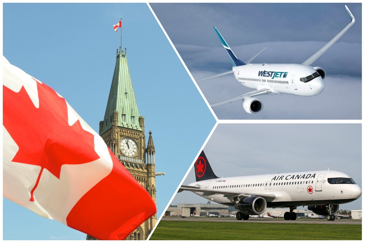 Ottawa may take a stake in Canada's airlines; agents urged to attend Parliament Hill rally