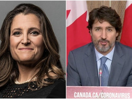 Trudeau, Freeland say they've helped airlines already, but will do more