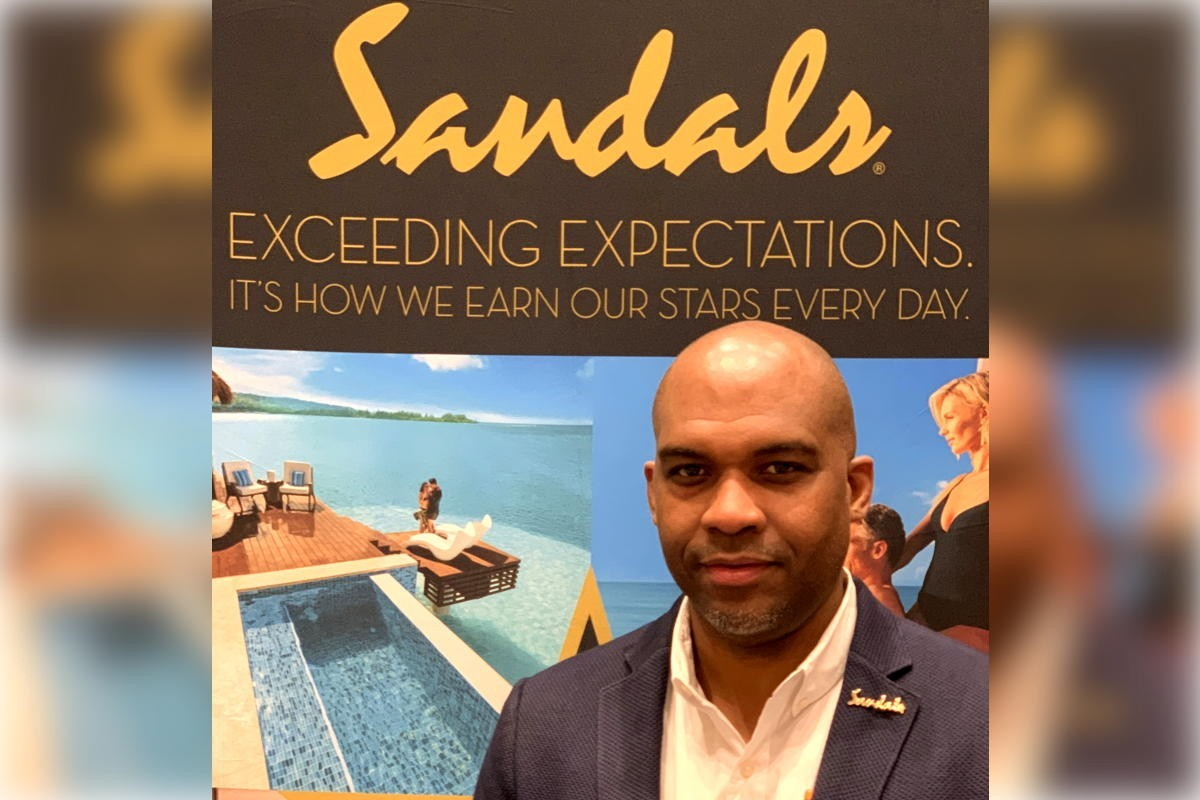 Omar Josephs now overseeing group business for Sandals & Beaches Resorts