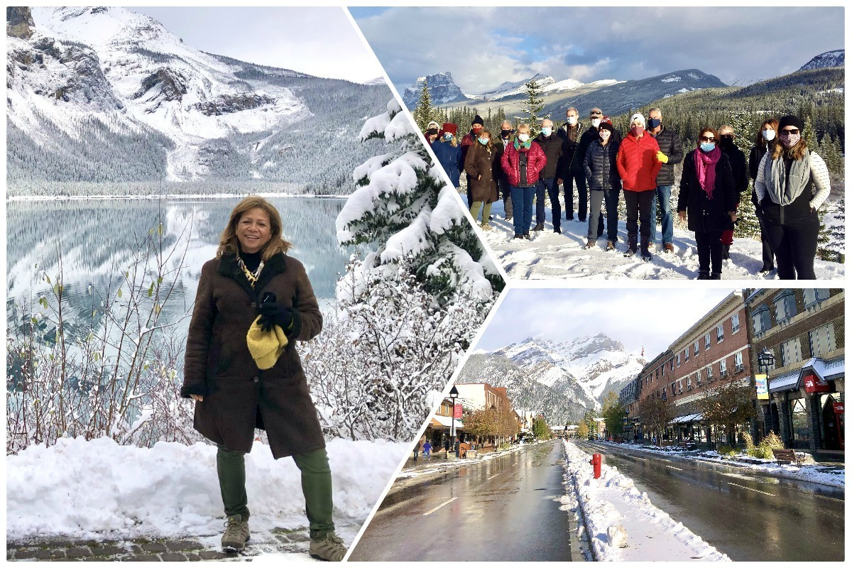 """Thrilling to witness"": Globus takes travellers to the Rockies on first tour since March"