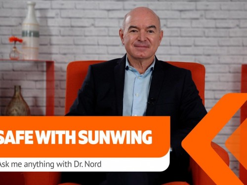 VIDEO: Q&A with Dr. Nord, Chief Medical Advisor to Sunwing