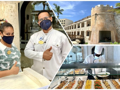 On Location: Sanctuary Cap Cana – the castle that made health & safety protocols look chic