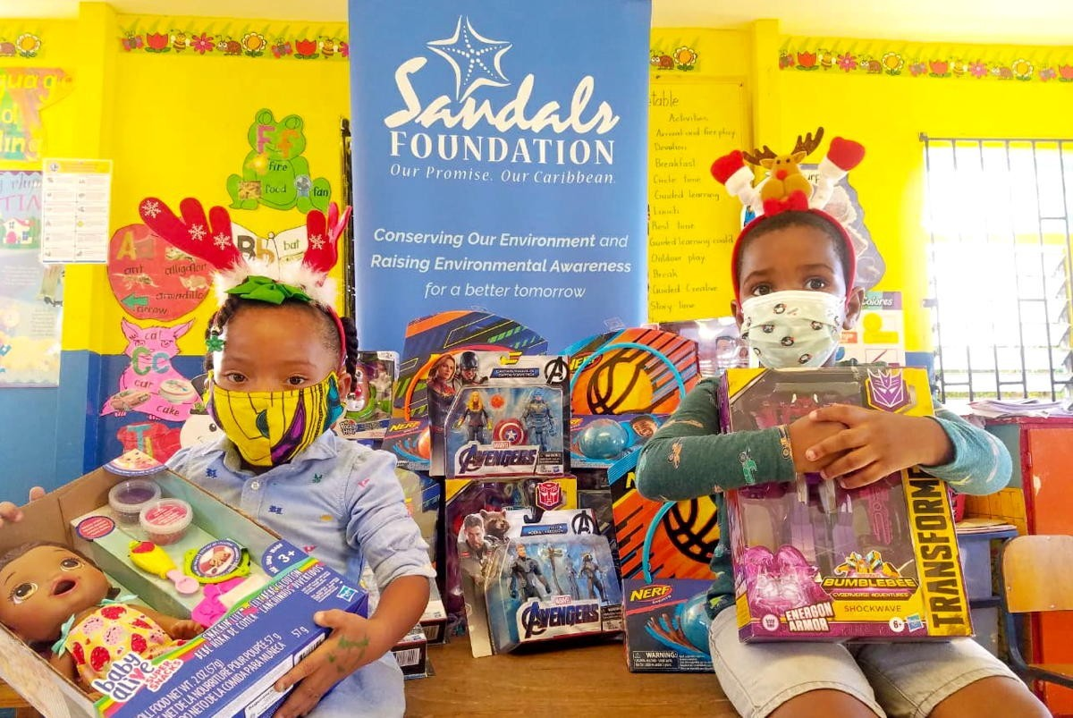Sandals Foundation, Hasbro deliver 10,000+ toys to children in need