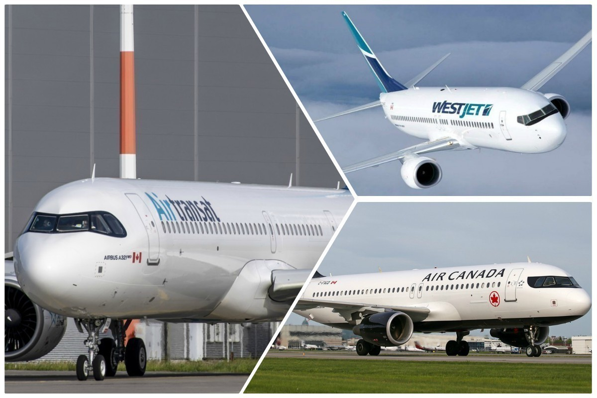 Stranded passengers, no-shows: airlines face challenges on day one of COVID testing rule; Trudeau pushed on airline bailout status