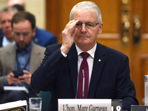 With unfinished business, Garneau is out as Transport Minister in cabinet shuffle