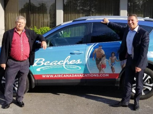 """Air Canada Vacations pays tribute to late Gordon """"Butch"""" Stewart"""