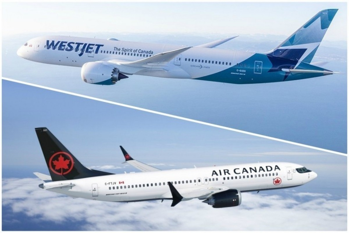 WestJet urges Ottawa to reject Air Canada-Transat deal; U.S. Travel welcomes Biden, Harris; Legault wants vacations banned