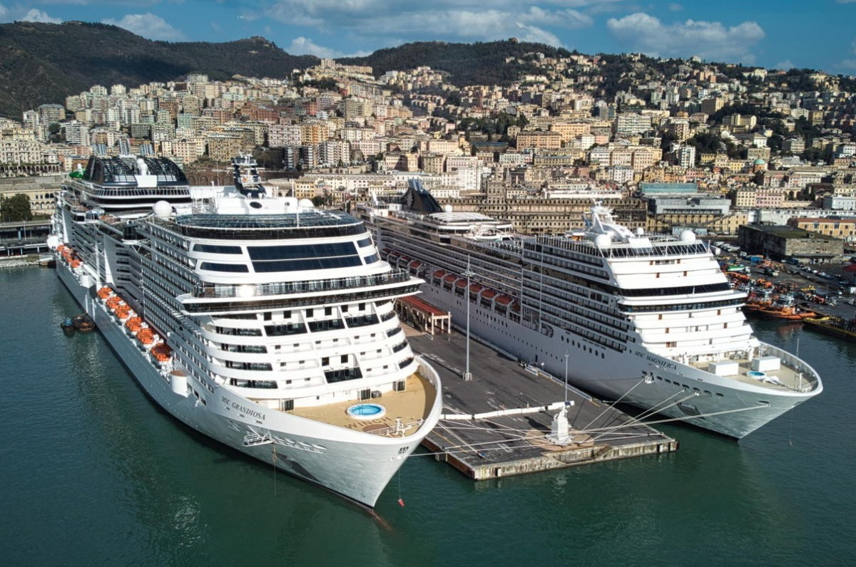 MSC Grandiosa is back at sea after brief pause in operations