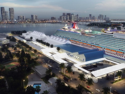 PortMiami, Carnival break ground on Terminal F, homeport of Carnival Celebration