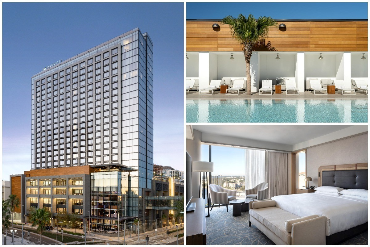 PHOTOS: JW Marriott's 100th property worldwide opens in Tampa