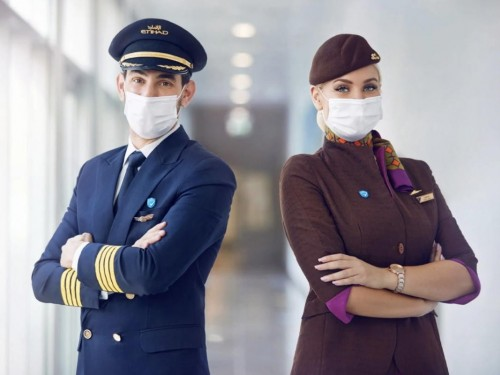 """Etihad becomes first airline with """"100% of crew on board vaccinated"""""""