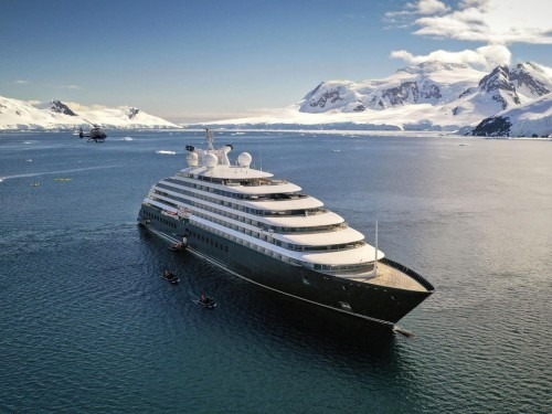 Scenic Eclipse adds complimentary business class air on select 2022 Antarctica sailings