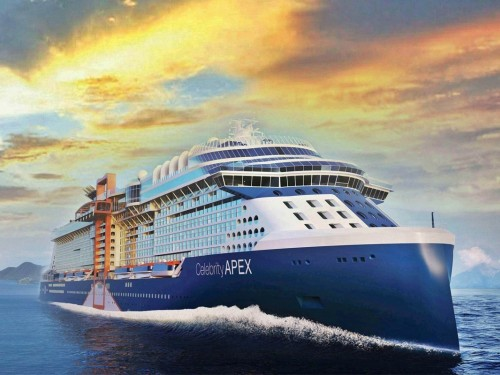 Celebrity returns to Europe; Celebrity Apex will debut in Greece this June