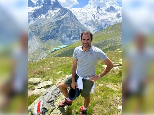 VIDEO: Roger Federer teams up with Switzerland Tourism