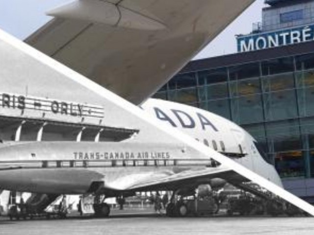 Air Canada marks 70th Anniversary of Montreal-Paris route
