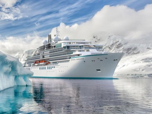 Crystal Endeavor will sail 10-night Iceland expedition voyages starting July 17