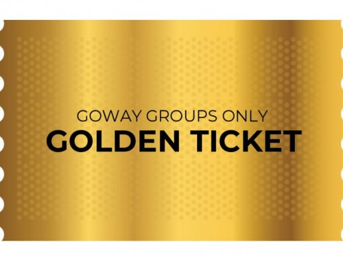 Goway announces winners of groups only Golden Ticket promo